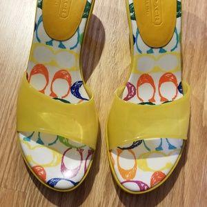 Womens Coach size 11 heels